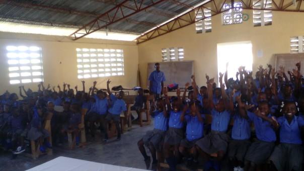 Enfants de l'école